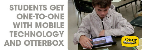 Students Get One-on-One with Mobile Technology ... - Planet OtterBox | iPad in Education! | Scoop.it