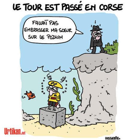 Un Tour de France Corsé | Baie d'humour | Scoop.it
