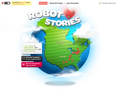 Robot Heart Stories -- IndieGoGo | Creative Digital Storytelling | Scoop.it