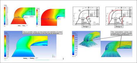 Optimizing Designs of Industrial Pipes, Ducts and Manifolds Using CFD | CFD Analysis | Scoop.it