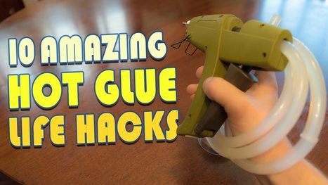 Make Cheap Door Knob Wall Stoppers and Cabinet Bumpers With Hot Glue | internet radio how to | Scoop.it