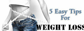 5 Easy To Do Weight Loss Tips ~ Best4Fit | Health & Fitness | Scoop.it
