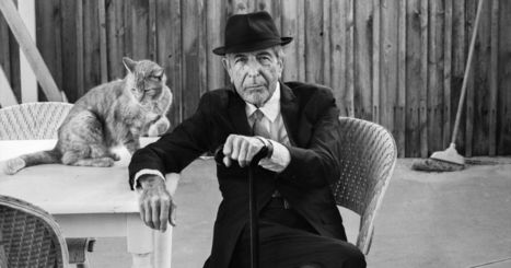 Leonard Cohen Makes It Darker | Creatively Aging | Scoop.it