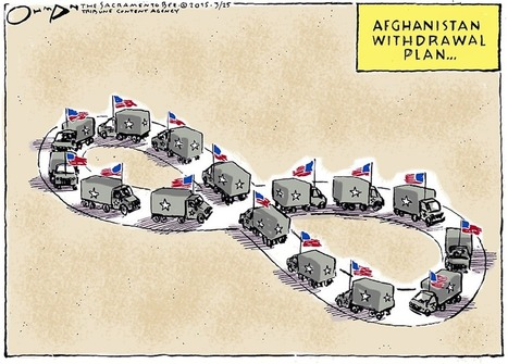 This political cartoon shows what the US's future role in Afghanistan looks like | Culture and Spirituality | Scoop.it