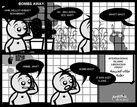 Bombs Away | Comic Strips | Scoop.it