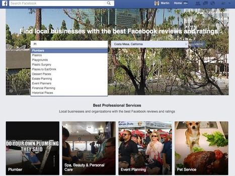 """Is """"Facebook Professional Services"""" Facebook's Stealth Project To Beat Yelp? 