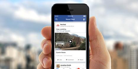 Facebook va permettre à ses utilisateurs de regarder des vidéos off-line - | Community management | Scoop.it