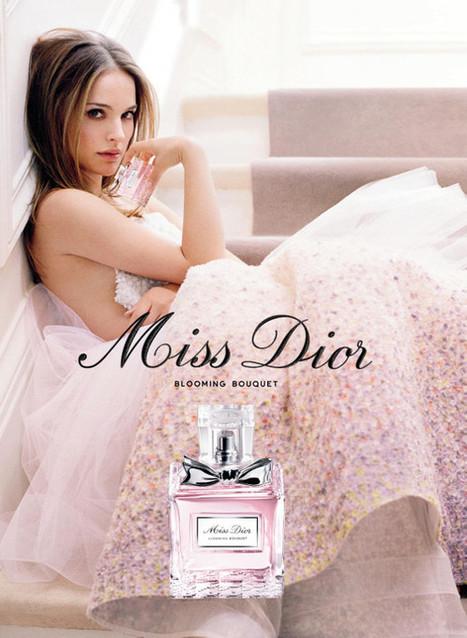 Publicité du parfum Miss Dior Blooming Bouquet de Christian Dior | Publicités et parfum | Scoop.it