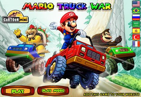 Mario Truck War | cartoon mini | Scoop.it