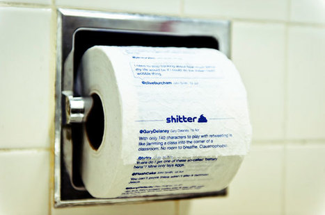 Shitter prints your tweets on toilet paper   #Technology   Scoop.it