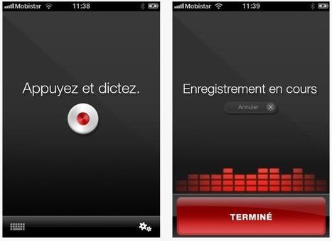 Logiciel gratuit Dragon Dictation Fr 2012 licence gratuite moteur de reconnaissance vocale Dragon NaturallySpeaking pour iPhone et iPad | Ressources pour accompagner le handicap | Scoop.it