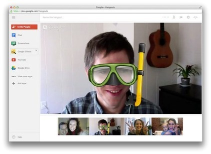 Amit Fulay - Google+ - Google+ Hangouts: nicer to look at, easier to use Today…   All things Google+   Scoop.it