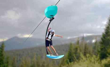 Ride Entertainment TAIT Airsurfer zipline AAE | Aires de jeux | Scoop.it