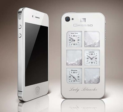 iPhone4 Lady Blanche by Gresso   Art, Design & Technology   Scoop.it
