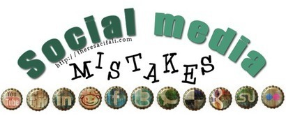 12 Social Media Mistakes Creative Businesses Make: Part One | Small Town Small Business Social media | Scoop.it