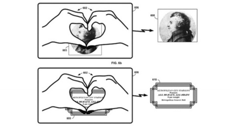 """Google Glass Patent Describes Hand Gestures to """"Like"""" Real Life Objects - TechnoBuffalo 