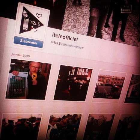 Instagram fait une percée sur les sites d'information | Formation Réseaux Sociaux | Scoop.it
