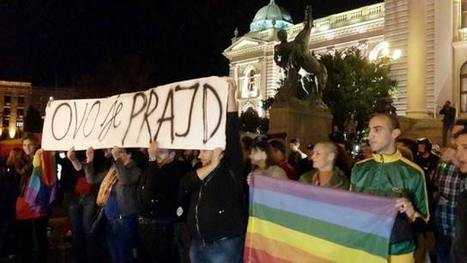 Belgrade made it: Hundreds LGBT in the streets like in the Stonewall time | Gay Pride | Scoop.it