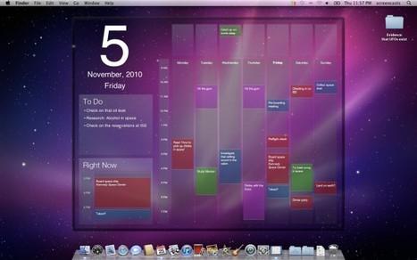Votre agenda toujours sous les yeux avec Blotter | reactif.net | Toute l'actualité du Mac | Scoop.it