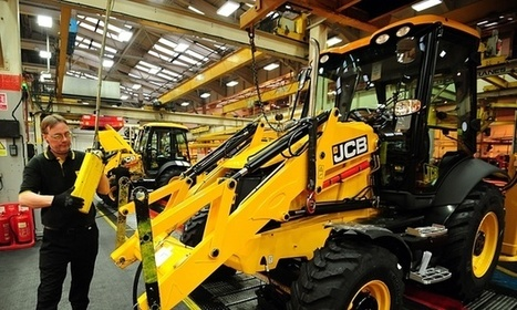 JCB staff agree to work fewer hours to save jobs | Strategic Business Management | Scoop.it
