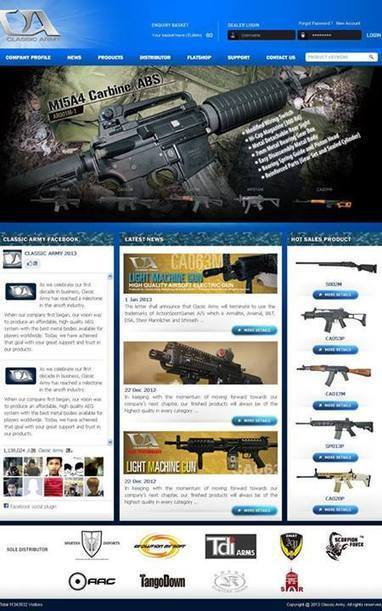 INCOMING! Classic Army's New Website OTW! - Timeline Photos - Facebook | Thumpy's 3D House of Airsoft™ @ Scoop.it | Scoop.it
