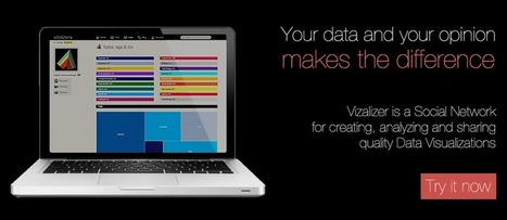 Social Network for Quality Data Visualizations | Vizalizer | Time to Learn | Scoop.it