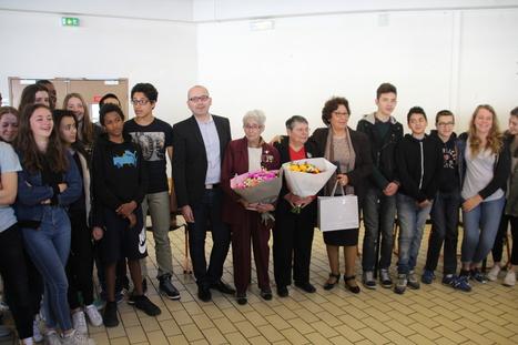 Après des années de silence, la résistante Paulette Fouchard-Ayot a témoigné auprès des collégiens de Cachan | 94 Citoyens | Au hasard | Scoop.it