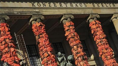Ai Weiwei covers Berlin venue with 14,000 life jackets | Cultures, Identity and Constructs | Scoop.it