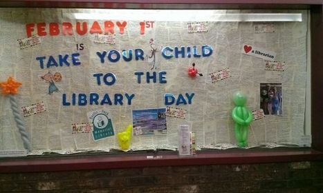 Bookboard is Celebrating Take Your Child to the Library Day! - Bookboard | Family Literacy | Scoop.it