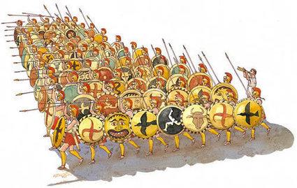History of the phalanx | Ancient Greek Civilization | Scoop.it