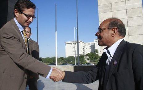 Moncef Marzouki à la Bourse: «Faites redémarrer la machine et vous aurez plein soutien!» | Africa Finance | Scoop.it