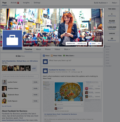 Un nouveau format de page Facebook débarque – l'impact pour l'immobilier | Immobilier | Scoop.it