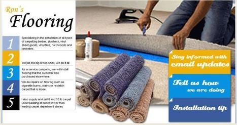 Ron's Flooring | Ron's Flooring | Scoop.it