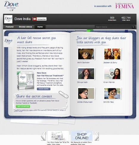 Dove Gets Real Women To Share Their Stories On Social Media | Business 2 Community | Digital-News on Scoop.it today | Scoop.it