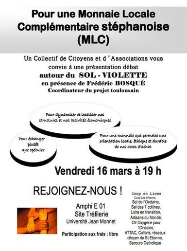 Projet de monnaie locale à St Etienne | Monnaies En Débat | Scoop.it