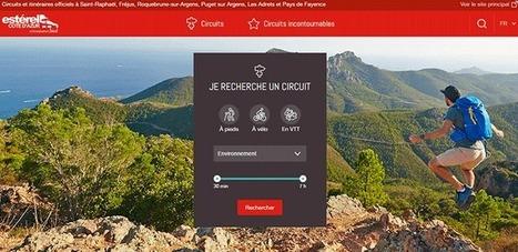 Un nouveau site web dédié aux circuits et routes touristiques | Estérel Côte d'Azur tourisme | Scoop.it