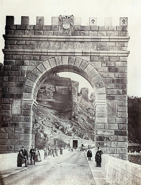 Puente de Alcántara. Charles Clifford, 1859.   Curious World   Scoop.it