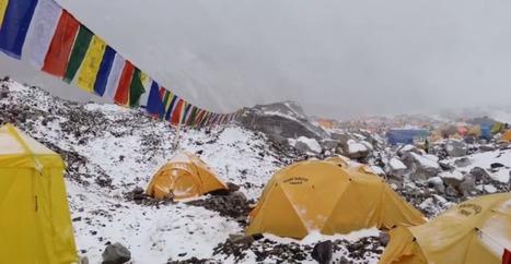 Avalanche au Camp de Base de l'Everest | Montagne TV | Scoop.it