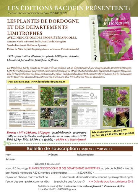 Flore de Dordogne | Nouvelles Flore | Scoop.it