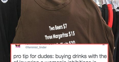 People Are Outraged Over This Extremely Rape-y Shirt   Women, Sexuality and Equality   Scoop.it