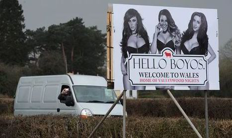 'Hello Boyos' roadside billboard advertising MTV's The Valleys too racy for for Welsh village | Sex Marketing | Scoop.it