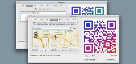 QR Factory, crea códigos QR para textos, mapas, contactos y redes ... | REALIDAD AUMENTADA Y ENSEÑANZA 3.0 - AUGMENTED REALITY AND TEACHING 3.0 | Scoop.it