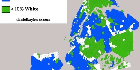 These Maps Show Just How Segregated NYC Really Is | Writing, Research, Applied Thinking and Applied Theory: Solutions with Interesting Implications, Problem Solving, Teaching and Research driven solutions | Scoop.it