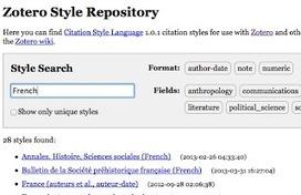 La Boite à Outils des Historiens: Ce qui est nouveau dans Zotero 4.0   Informatique et Web pour les SHS   Scoop.it