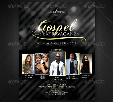 Graphicriver Life Music Gospel Flyer Template T