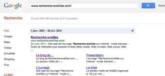 Le blog de Recherche-eveillee.com: Une astuce pour connaître la date de publication d'une page web | Univers de la veille | Scoop.it