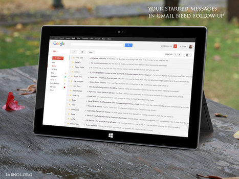 Get Reminders to Follow-up your Starred E-mails in Gmail | AllAboutSocialMedia | Scoop.it