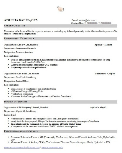Over 10000 CV and Resume Samples with Free Down...