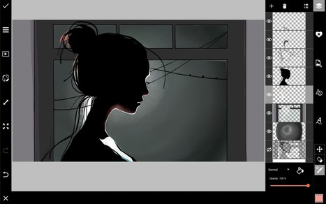 How to Draw a Silhouette With PicsArt   Drawing and Painting Tutorials   Scoop.it