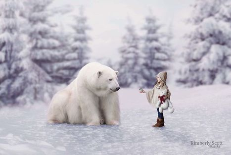 10+ Imaginative And #Whimsical #Christmas Composites For #Children. #art #photography | Luby Art | Scoop.it